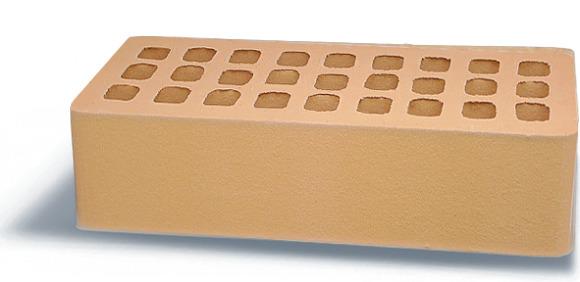 Кирпич Аксайский керамический одинарный гладкий